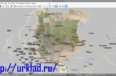 Карта Стрельбицкого в SAS Planet