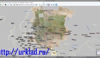 Устанавливаем карту Стрельбицкого в SAS Planet