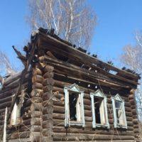 В очередной раз посетили деревню Петрушино