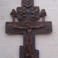 Киотный крест − классная находка кладоискателя. Отчет с выезда