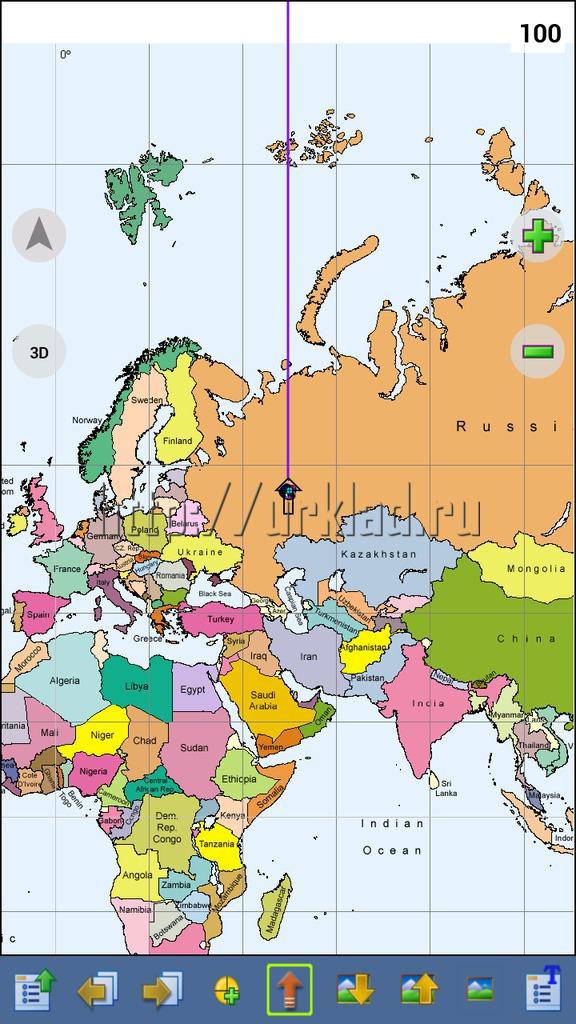 как наложить карту на карту для gprs