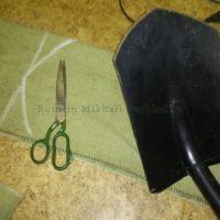 Делаем чехол для лопаты Fiskars своими руками