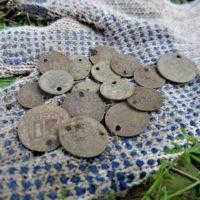 Для чего в старину дырявили монеты?