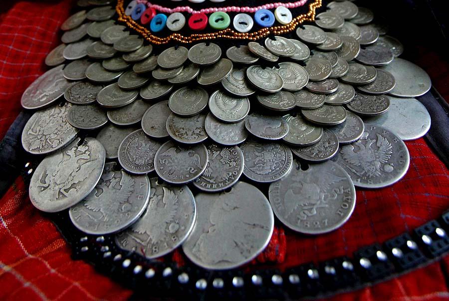 Дырки на монетах