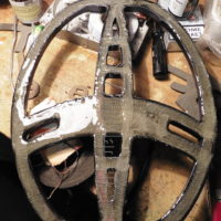 Ремонт катушки металлоискателя Garrett Ace Euro с заливкой