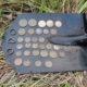 Поиск монет в старой заброшенной деревне. Находка монисто и крупных монет. Видео! Отчет с продуктивного копа.