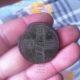 Крестовый пятак 1730 года — отличная находка копателя из Брянска