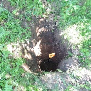 Мой самый первый шурф домовой ямы и что из этого получилось. Видео