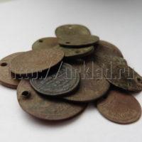 Монетовидные жетона для монисто. Находки кладоискателей