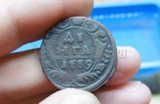 Патинирование медных монет нашатырным спиртом или аммиаком