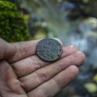 Поиск монет и кладов в родниках и источниках на примере одного из копов