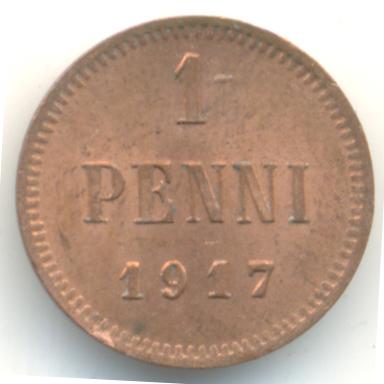 nikolaj2-1917-1_penni-Cu-XF-1