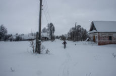 Зимний поиск в заброшенной деревне. Нашли советы и чешую!