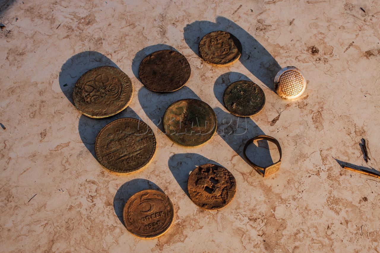 Выезд на поиски монет на 2 нивах. знатный оффроад, приключен.