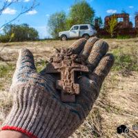 Как я киотный крест и пятак откопал