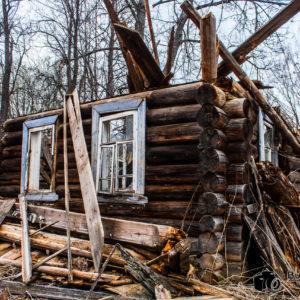 Поездка в заброшенную деревню и экскурсия по ней