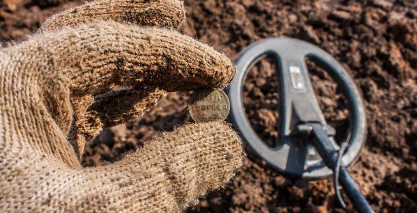 10 монет за вечер с распаханного поля