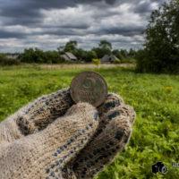 Коп монет на заброшенных огородах – находки порадовали