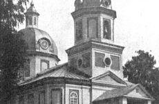 Заброшенная церковь села Атары Кировской области