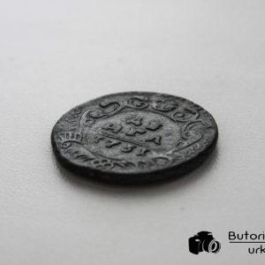 Деньга 1731 года в сохране!