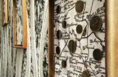 Что делать с какаликами и прочими находками? Создаём панно из копанины