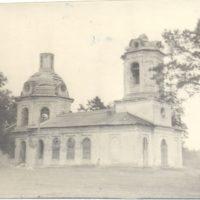 Заброшенная церковь села Козьмодемьянское Уржумского района
