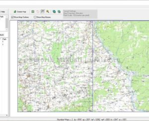 Как склеивать карты для OziExplorer