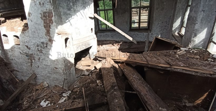 Чищу старинный дом прадеда от гнилушек изнутри. Новая стадия работ!