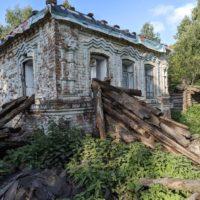 Продолжение ремонта старинного дома. Разобрали русскую печь и остатки пола