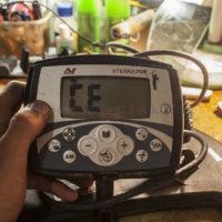 Ошибка «CE» на Minelab X-Terra 705. Что это такое и как её решить?