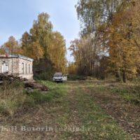 Приборка территории вокруг дома прадеда в деревне