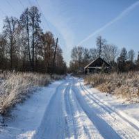 Русская зима в деревне. Морозный обзор нашего хутора