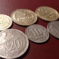 Чистка медно-никелевых и бронзовых монет СССР