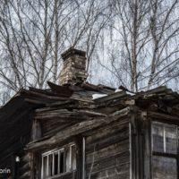 Барские дома посёлка Андреевского. В них ещё недавно жили люди