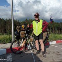 «В состоянии я или не в состоянии». Под Кировом встретил велопутешественника, который едет во Владивосток